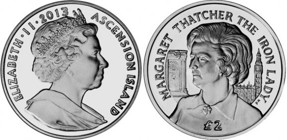 Margaret Thatcher Coin