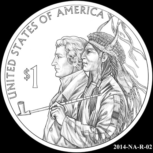 CFA Recommendation for 2014 Native American Dollar Design