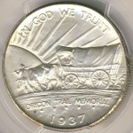 Oregon Trail Memorial Commemorative Half Dollar