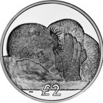 Weddell Seal Pup Depicted on South Georgia Coin