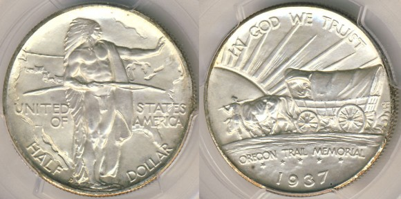 Oregon Trail Half Dollar