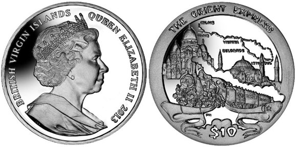 Orient Express Coin