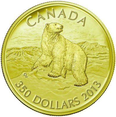Polar Bear Gold Kilo Coin