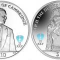 BVI 2013 Royal Baby Coins