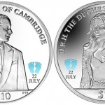 British Virgin Islands 2013 Royal Baby Coins