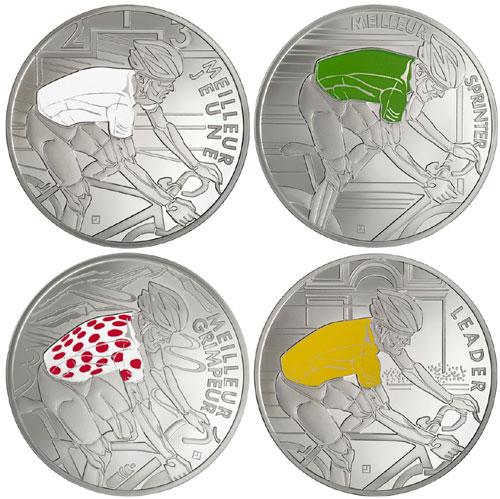 Tour de France Silver Coins