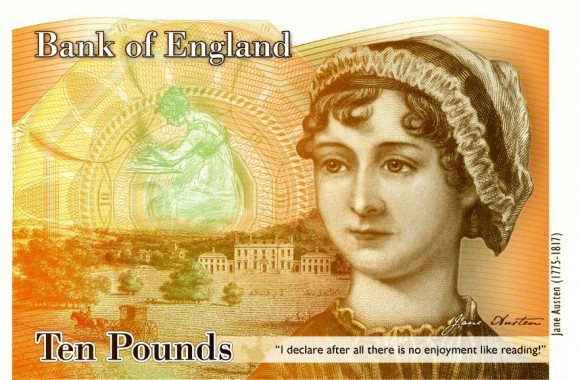 Jane Austen Ten Pounds