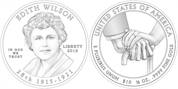 Edith Wilson Gold Coin