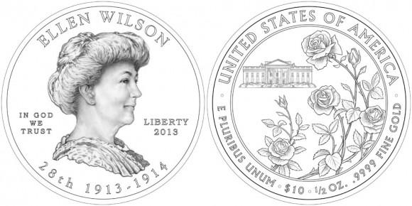 Ellen Wilson Gold Coin