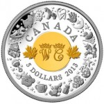 Birth of Prince George Marked on New Canadian Coin