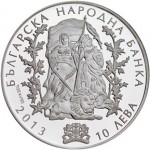 2013 110th Anniversary of the Ilinden-Preobrazhenie Uprising Silver Coin