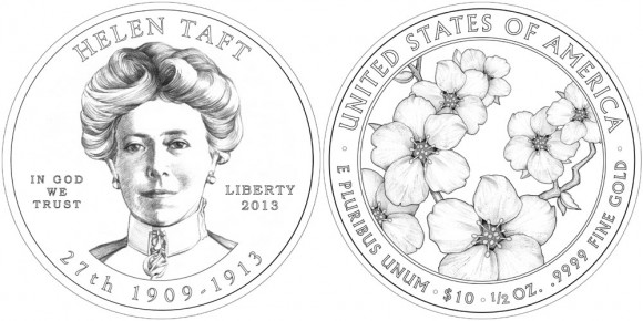 Helen Taft Gold Coin