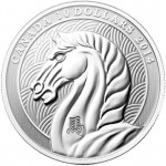 Royal Canadian Mint 2014 Year of the Horse Gold and Silver Coins