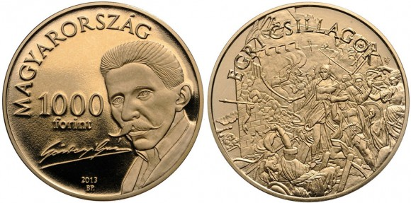 Géza Gárdonyi coin