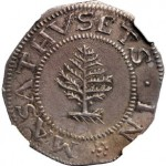 1652 Massachusetts Bay Colony Pine Tree Shilling Realizes $76,375