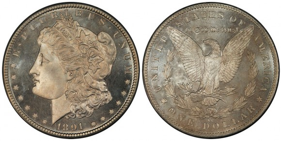 Coronet Collection 1891-CC Morgan Dollar PCGS MS68PL  (Photo: PCGS)