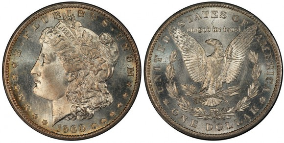 Coronet Collection 1900-S Morgan Dollar PCGS MS67PL.  (Photo credit: PCGS)