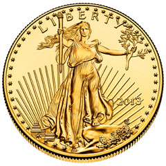 2013 Gold Eagle