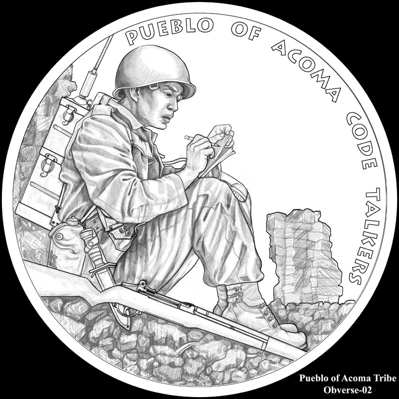 code talker congressional gold medals for six tribes