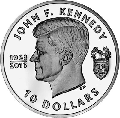 BVI Kennedy Coin