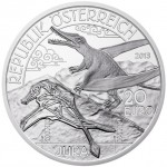Second Coin Released in Austrian Mint Prehistoric Life Series