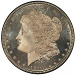Current Finest Morgan Silver Dollar Set on Display at Long Beach Expo