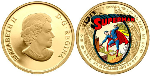 Superman Gold Coin