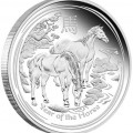 Year of the Horse Silver Proof Coin