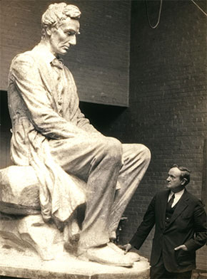 Lincoln the Mystic by James Earle Fraser (From the Syracuse University Art Collection)