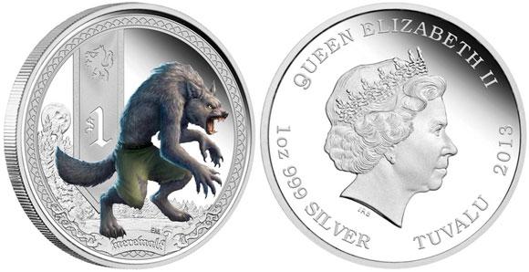 2013 Werewolf Coin