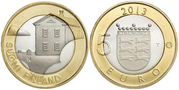 Ostrobothnia 5 Euro Coin