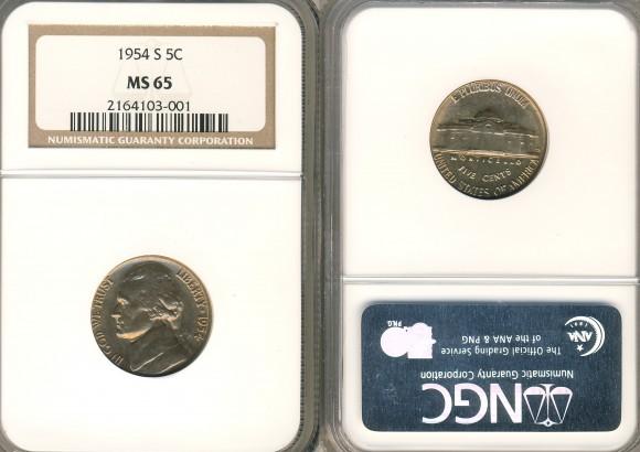 1954-S-NGC-MS-65