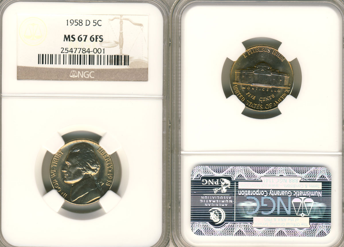 1964 D Double Die Nickel