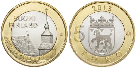 Tavastia 5 Euro Coin