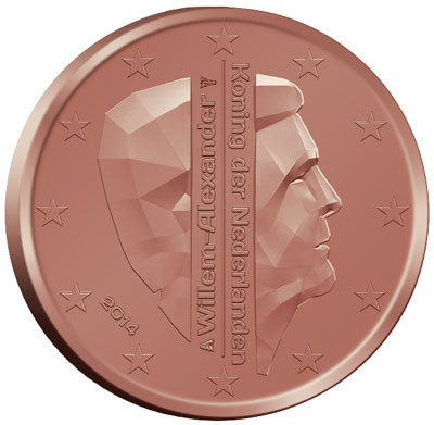 2014 Netherlands 5 Cent Coin