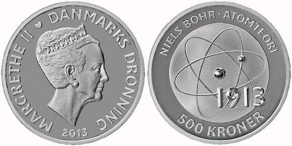 Neils Bohr Coin