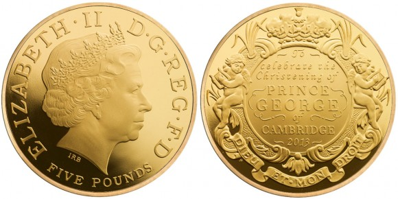 Royal Christening Gold Coin