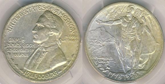 1928 Hawaiin Sesquicentennial Half Dollar