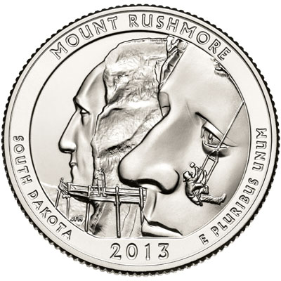 Mount Rushmore National Memorial Quarter