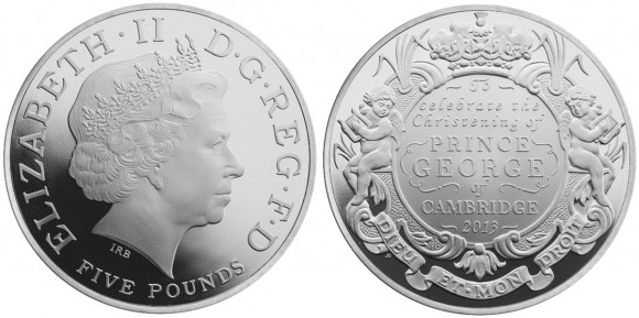 Royal Christening Coin