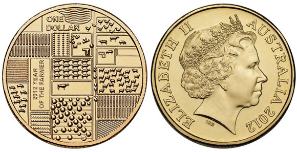 2012 Year of the Farmer $1 Coin