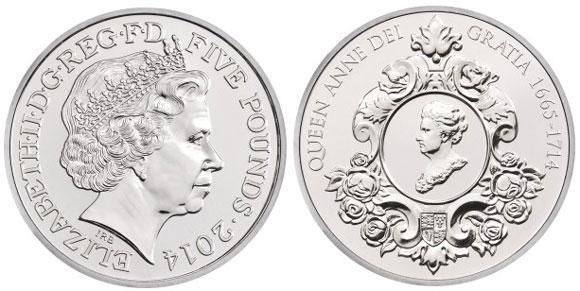 2014 Queen Anne Crown