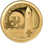 2013 Medieval Irish Architecture Gold Proof Coin Features Rock of Cashel