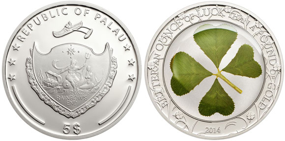 Four Leaf Clover Coin