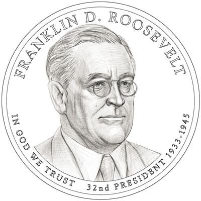 Franklin D. Roosevelt Presidential Dollar
