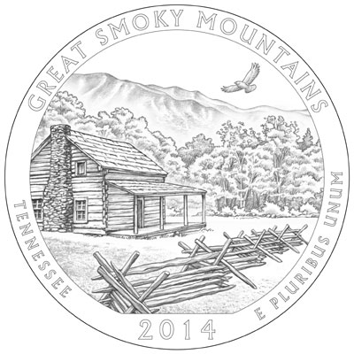 2014 Great Smoky Mountains National Park Quarter