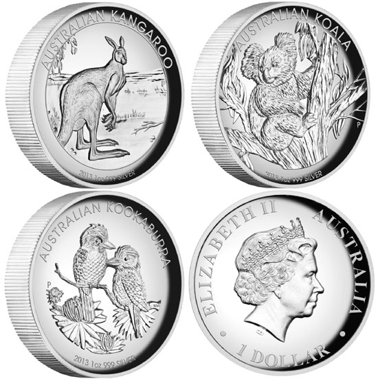 High Relief Silver Proof Coins