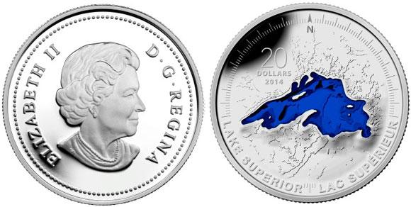 Lake Superior Silver Coin