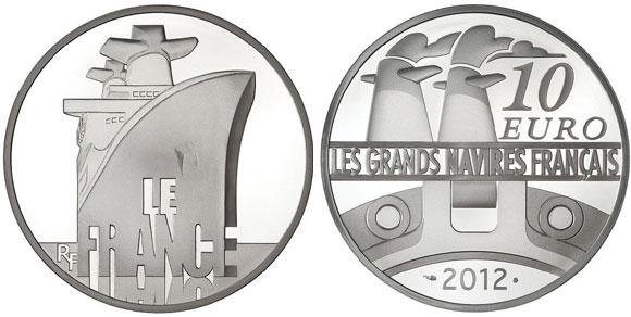 2012 Le France Silver coin