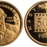 Hungary: 2013 Robert Capa 5000 Forint Gold Coin